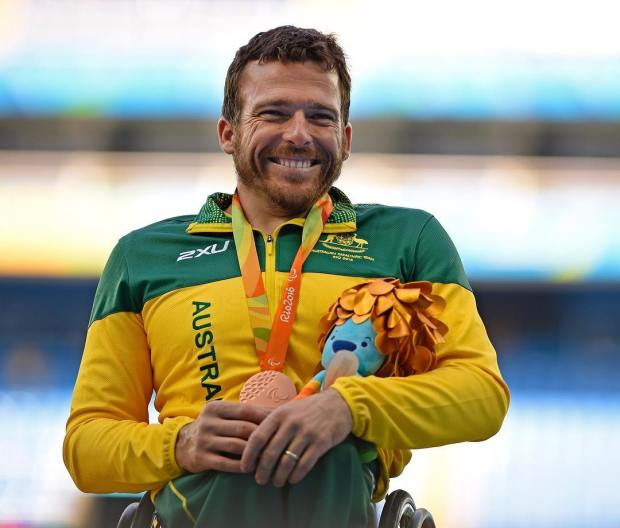 kurt fearnley - australian paralympic team facebook page